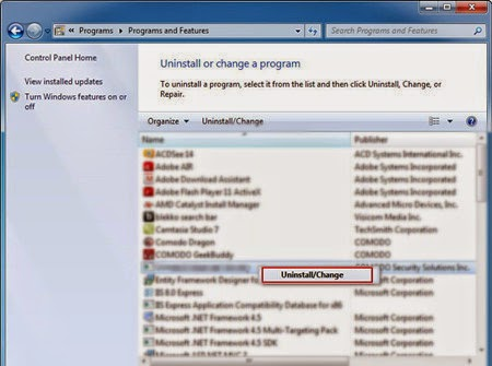 how to get rid of startup programs windows 7