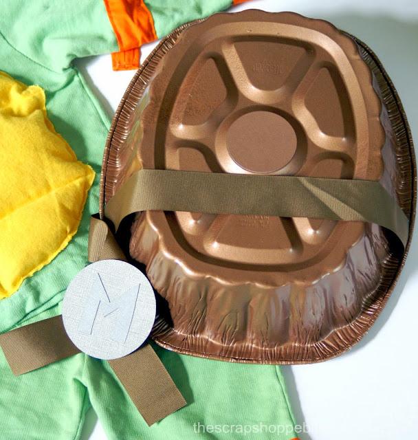DIY Teenage Mutant Ninja Turtle Shell