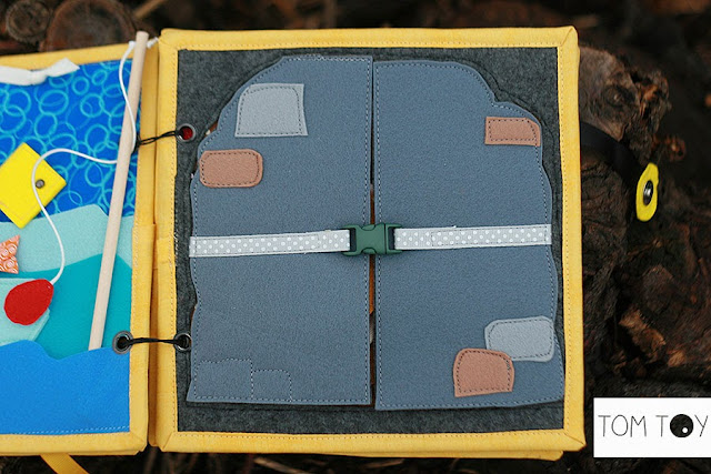 Bible quiet books handmade by TomToy