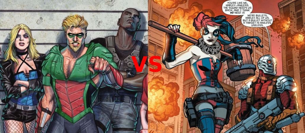 [CR v2] Green Arrow vs Harley Quinn Comics