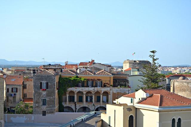 Vista dalla Torre di Sulis