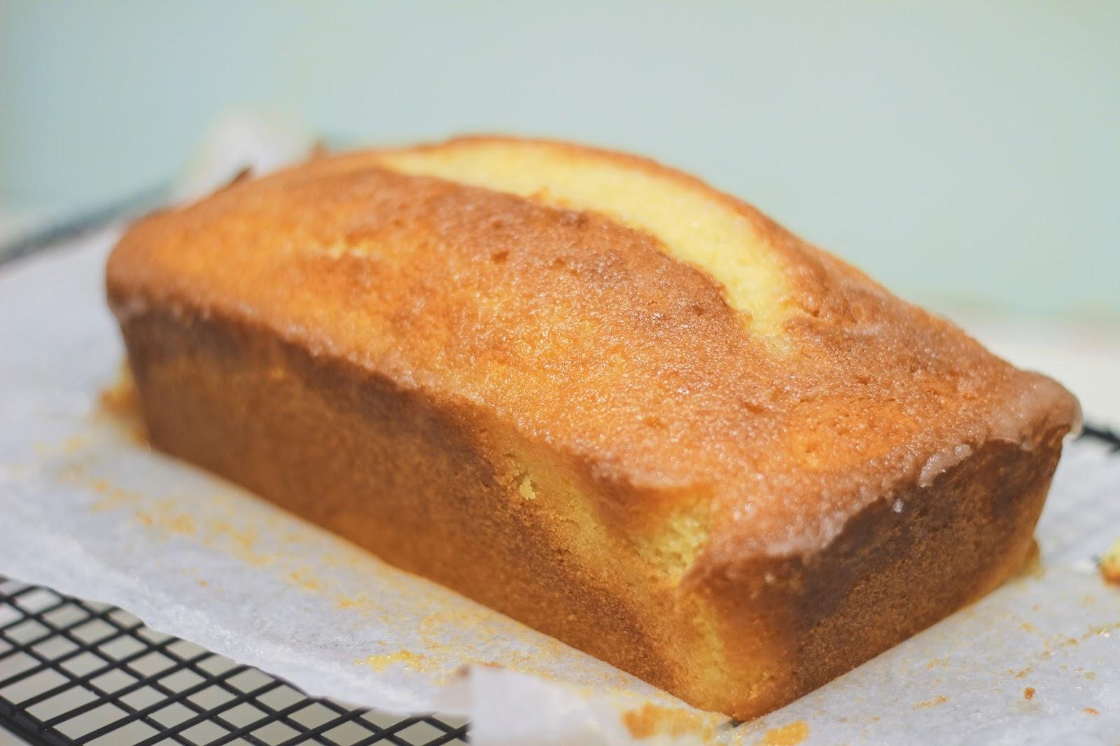 British Bake Off Lemon Drizzle Cake