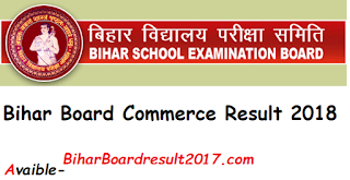 Bihar Board 12th Commerce Result 2018