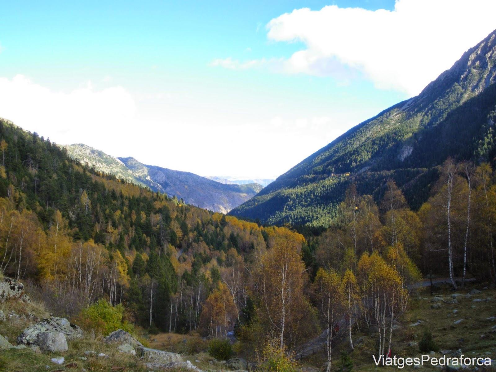 Vall del riu Escrita Espot Pallars Sobira Pirineu de Lleida Parc nacional d'Aigüestortes