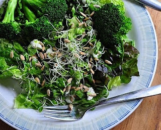 Lemony Broccoli & Lemon Vinaigrette
