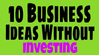 Which is the best business without investment? 10 Business Ideas Without Investing - Blogs 71