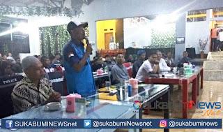 Di hadapan Cak Imin, Ketua Himpunan Nelayan Seluruh Indonesia (HNSI) Kabupaten Sukabumi Asep JK meminta kepada pemerintah agar Nelayan tidak dimarjinalkan seperti ada kejadian pada nelayan yang tersandung kasus.