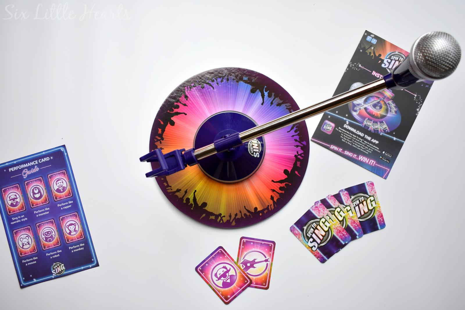 Six little hearts worlds apart spin to sing review a fun new game in this modern age of selfies and mega aspirations for stardom in particular what better way to belt it out than via the exciting new family game spin to solutioingenieria Gallery