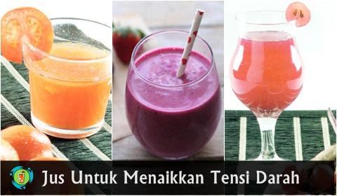 Aneka jus buah untuk menaikkan tensi darah rendah