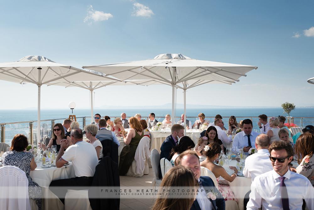Wedding reception Hotel Mediterraneo