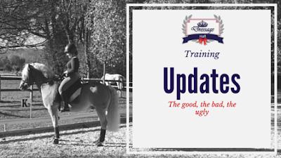 Training Update 5 - Cha Cha Cha Changes...