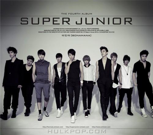 Super Junior – The 4th Album – Bonamana (Repackage) (APE + ITUNES PLUS AAC M4A)