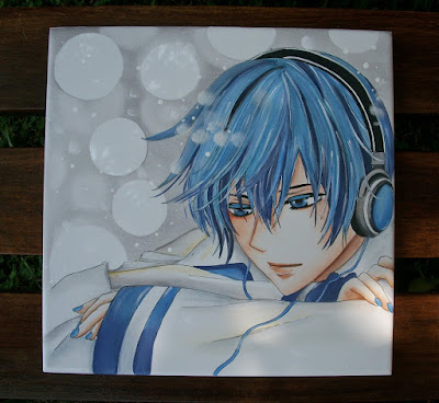 TILE, KAITO, HAND PAINTING