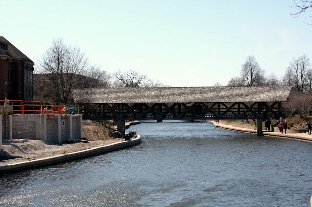 Pedestrian Bridge over DuPage River in Naperville