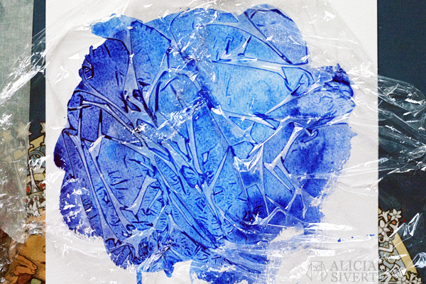 aliciasivert alicia sivertsson börja måla akvarell målarfärg skapa skapande kreativitet monthly makers färg akvarellfärg vattenfärg plastfolie