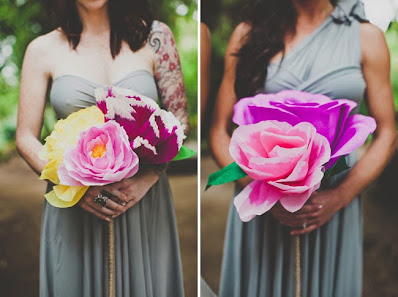 Paper Flowers for Your Wedding