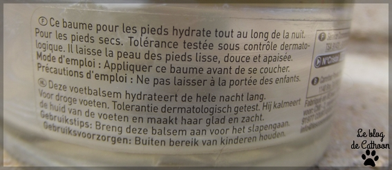 Carrefour - Pretty You - Baume Nuit Pieds - Hydratation Intense