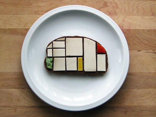 Sandwiches As An Homage To Modern Artists