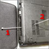 Чистка ноутбука от пыли компрессором