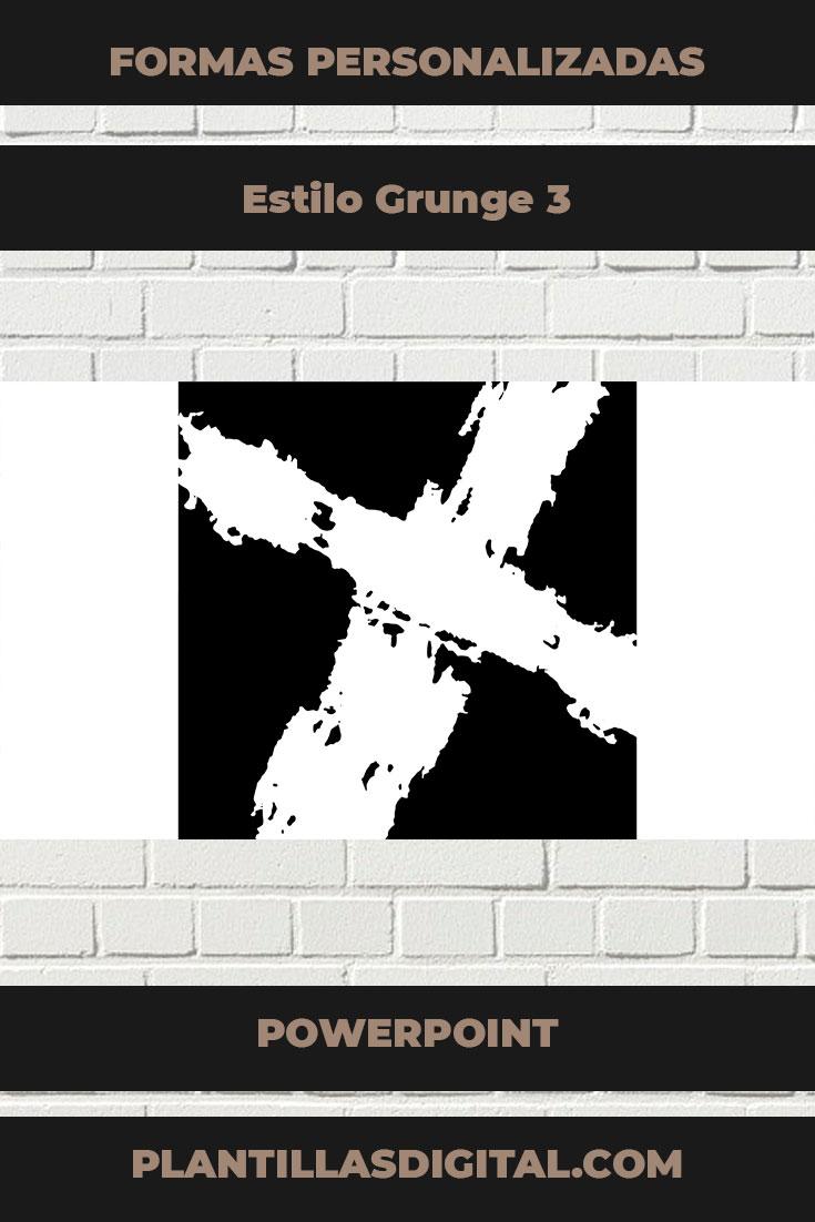 formas personalizadas estilo grunge 3 2