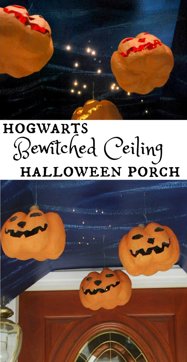 Harry Potter Hogwarts Bewitched Ceiling Halloween Porch