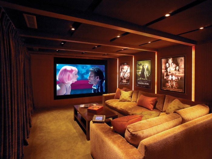 Home Entertainment Design Ideas: Family's Interior: The Importance Of The Entertainment Room
