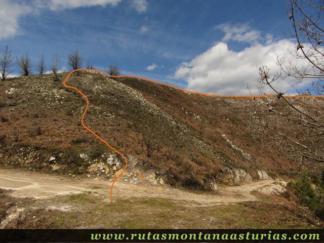 Sendero al pico Moru