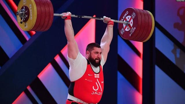 3 золотые медали Лаши Талахадзе и 3 его новых мировых рекорда!