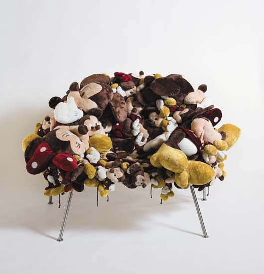 Stuffed Animal Chair Island Chairs For Kitchen The Baby Junebug Kelly Bensimon S House And She Shared About A Made Her Daughter Called It Memory With All Animals