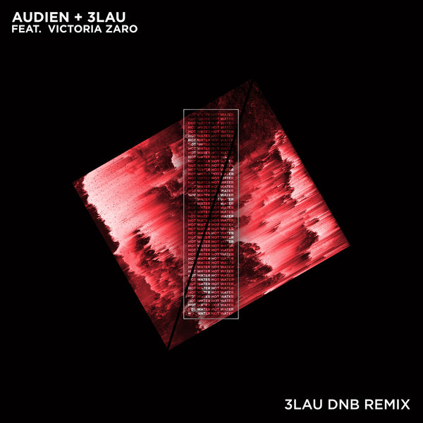 Audien & 3LAU - Hot Water (feat. Victoria Zaro) [3LAU DNB Remix] - Single  Cover