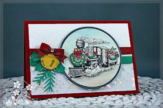 Stampin-Friends, Weihnachtskarte basteln