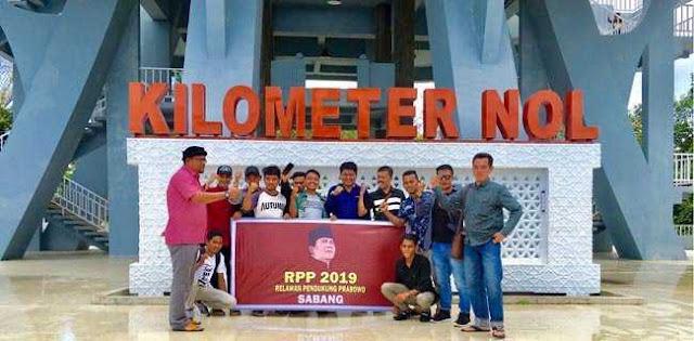 Relawan Siap Menangkan Prabowo-Sandi Di Aceh