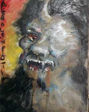 lukisan ganderuwo paling seram karya soleh pati