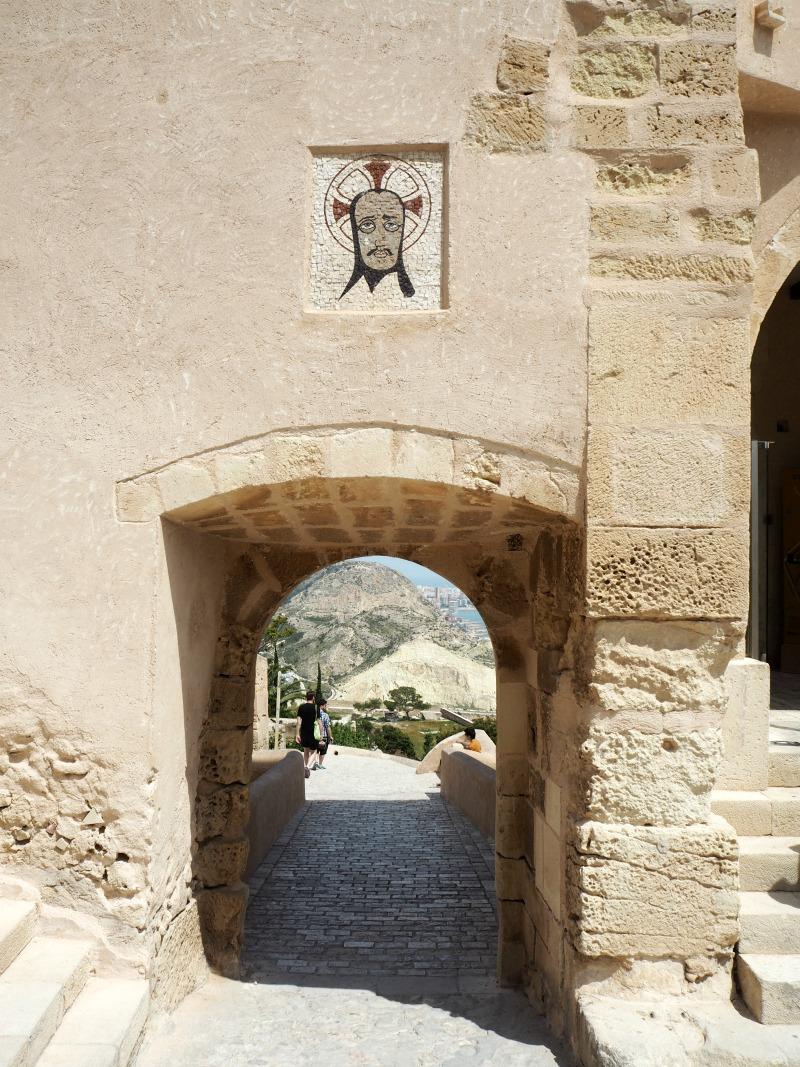 Archway at Santa Barbara castle
