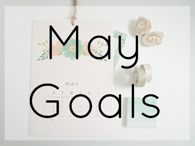 May Goals from Courtney's Little Things