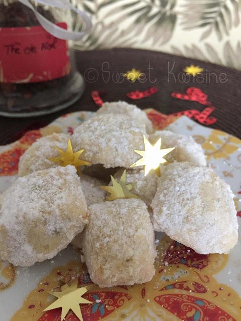 sweet kwisine, biscuits, bredele, Christophe Felder, vanille, amandes, Noel, Christmas