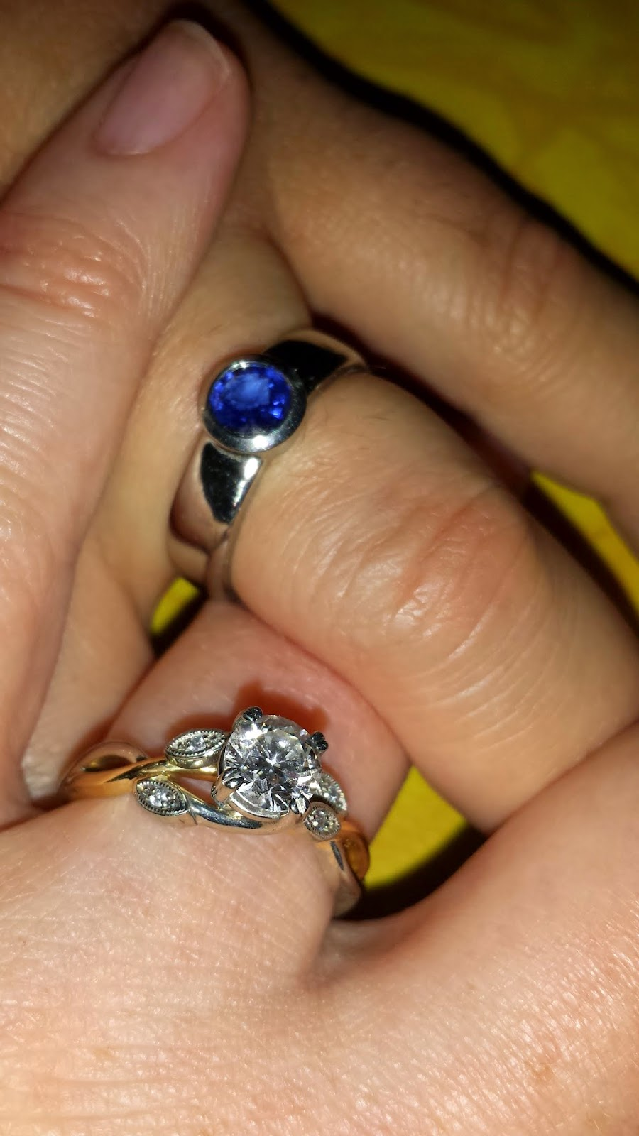 So We Each Had Our Perfect Engagement Ring And Loved Them