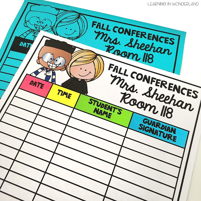 Parent teacher conferences made easy!