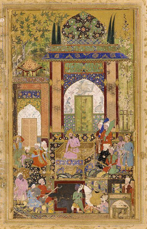 Farrukh Beg Mughal Painting