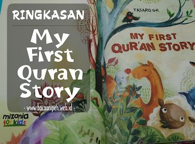 Beberapa Kisah Dari Buku My First Quran Story