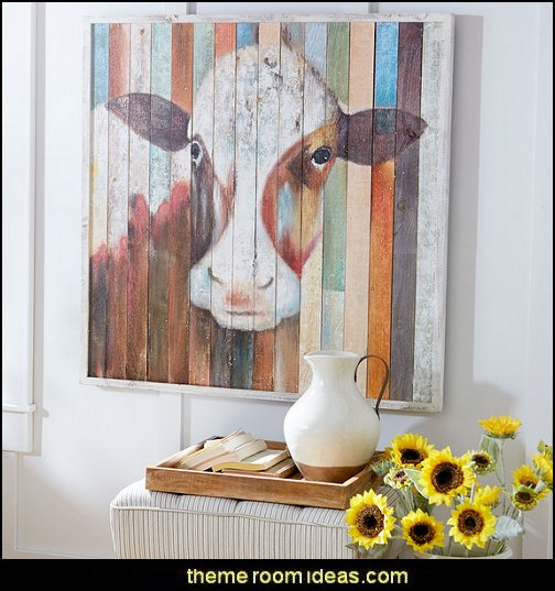 Belle of the Farm Cow Wall Art  rustic industrial farmhouse decorating - Industrial farmhouse decor - rustic farmhouse decor - industrial farmhouse living - barn door decor - rustic farm style deccor -  Modern Farmhouse decor - Sliding barn Doors - modern industrial farmhouse decorating