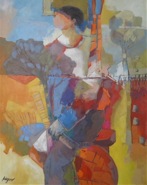 Cubismo e Surrealismo se mesclam nas cores brasileiras de Adagenir, trazendo Picasso e Salvador Dali para o Trópico de Capricórnio.