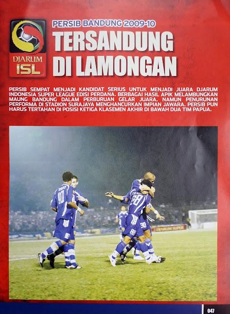 PERSIB BANDUNG 2009-10 TERSANDUNG DI LAMONGAN