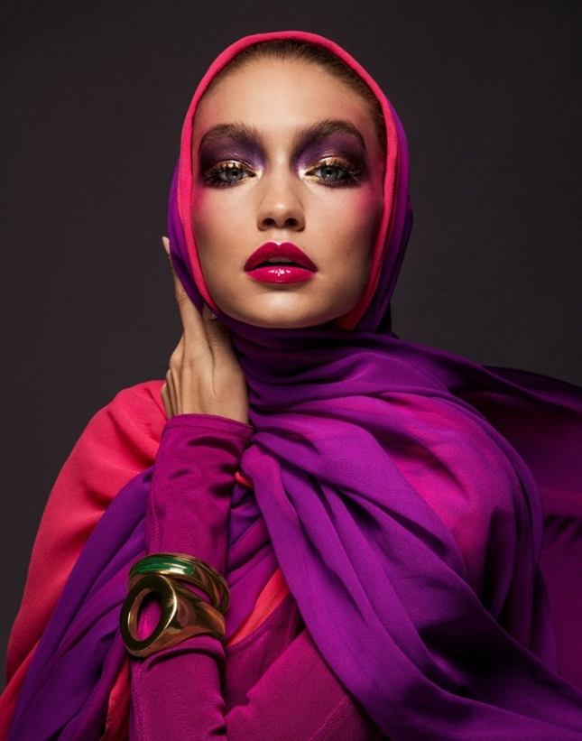 Gigi Hadid Vogue Arabistan