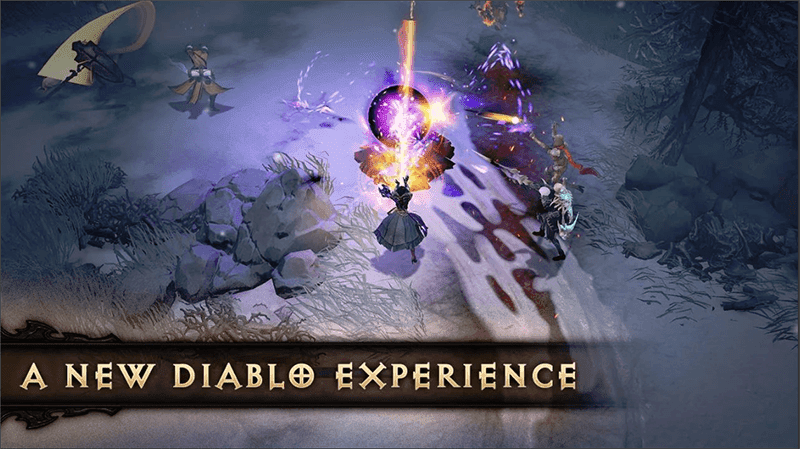 It is a new Diablo game exclusively for mobile