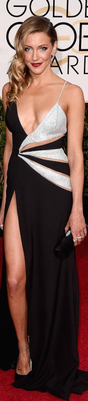 Katie Cassidy 2015 Golden Globes