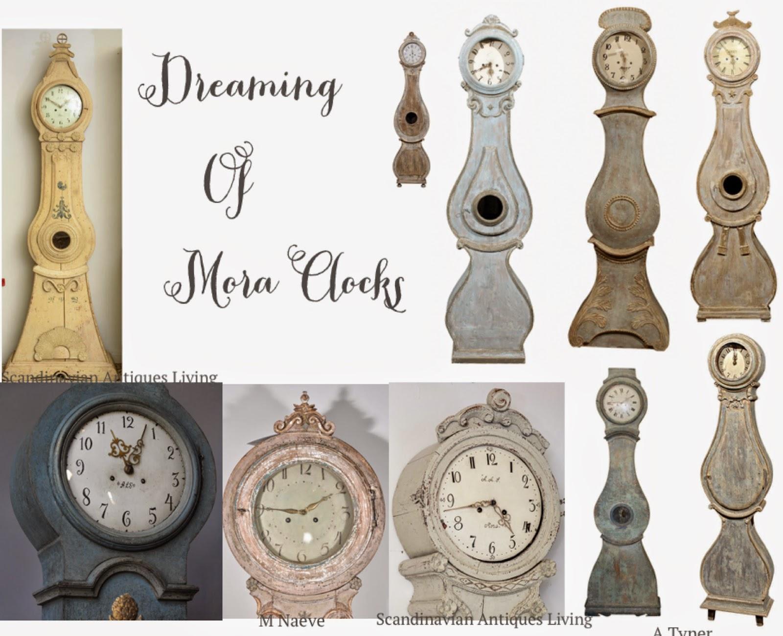 Antique Swedish Mora Clocks Petite Haus