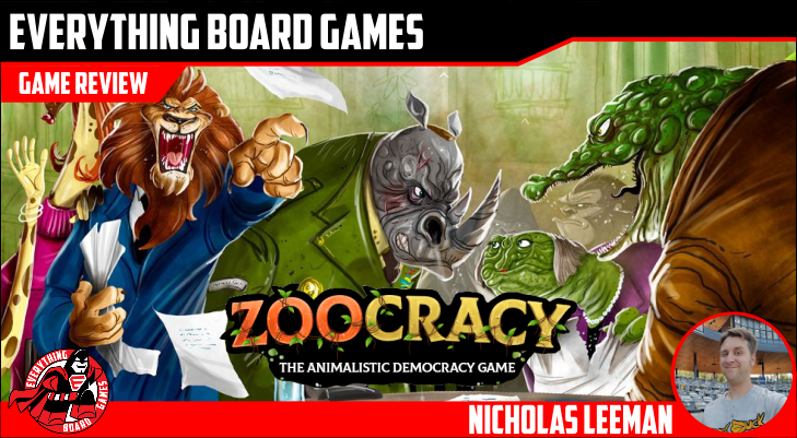 Everything Board Games Zoocracy Preview | Zoocracy | BoardGameGeek
