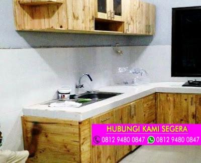 Jasa Pembuatan Kitchen Set Jati Belanda Di Pamulang 0812 9480 0847