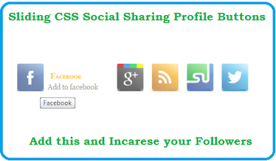 how to add Social sharing widget for bloggers